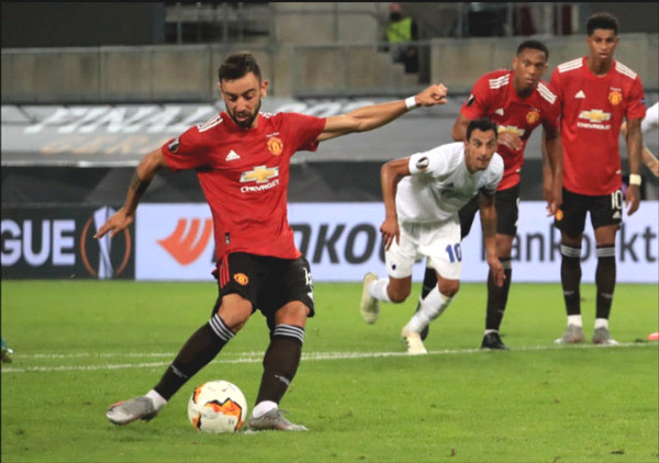 Fernandes (MU) dream Europa League scorers: Launched new attacks on 11M