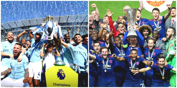Premiership dream of European domination: Man City champion C1, warm hat Europa League