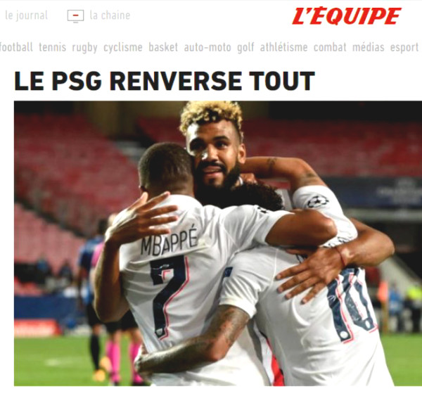 PSG Cup C1 upstream: European Journalism praised Neymar - Mbappe