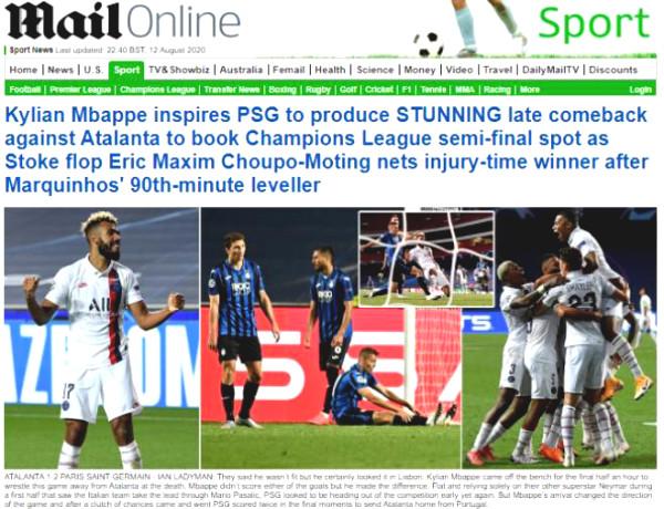 PSG upstream Cup feat C1: European Journalism ecstasy for Neymar - Mbappe