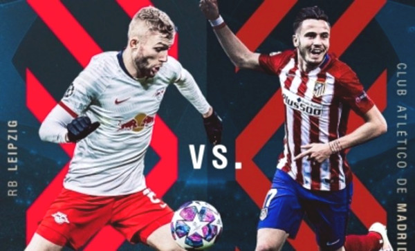 C1 Cup football commentary Leipzig - Atletico Madrid: Winner of semi-final ticket, will play with PSG