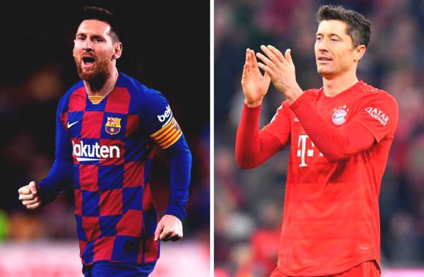 Verdict football trophy C1 Barcelona - Bayern Munich: The peak of the war, Messi - Lewandowski financial comparison