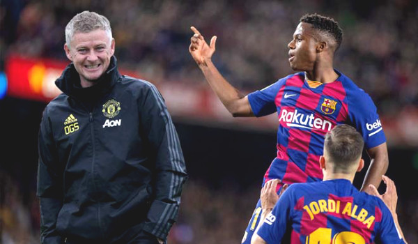 Barca is a mess after C1 Cup: Manchester United wants to take the advantage to steal Ansu Fati