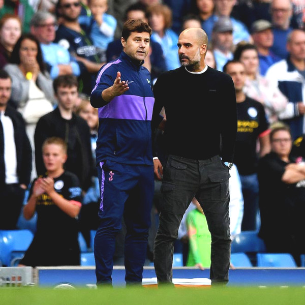 British newspapers reported Pochettino replaced Guardiola,