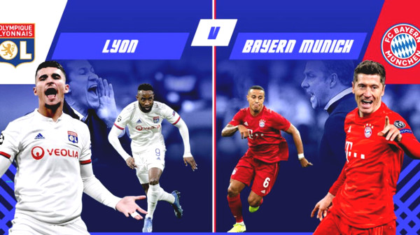 "Lyon - Bayern Munich Football Verdict : French ""Lion"" challenges German ""Bayern"""