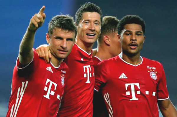 C1 Cup football results, Lyon - Bayern Munich: a double star, the final peak