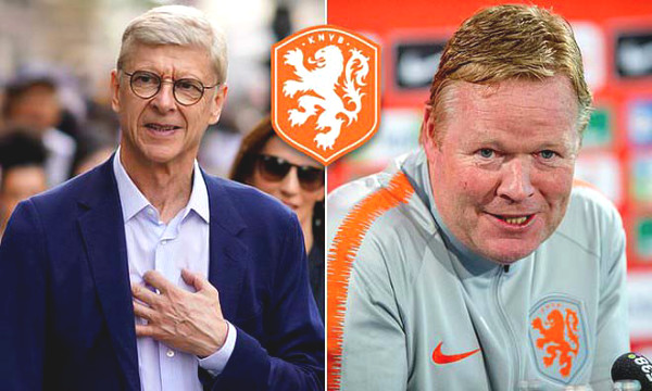 Hot 20/8 football news: What did Wenger say about leading Dutch national team?