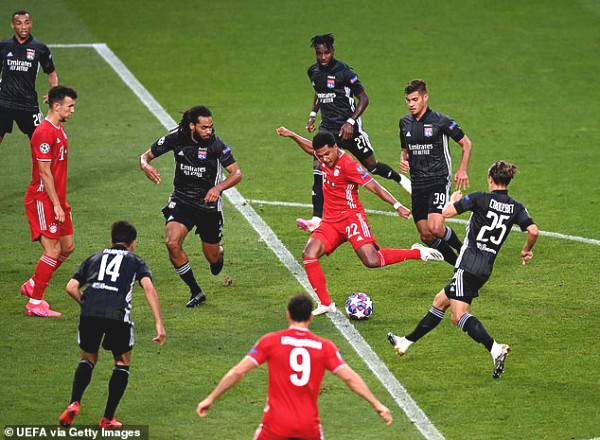 """Gnabry, """"waste product"""" of Premier League glowed at C1 Cup: admiring the solo """"1 against 7"""""""