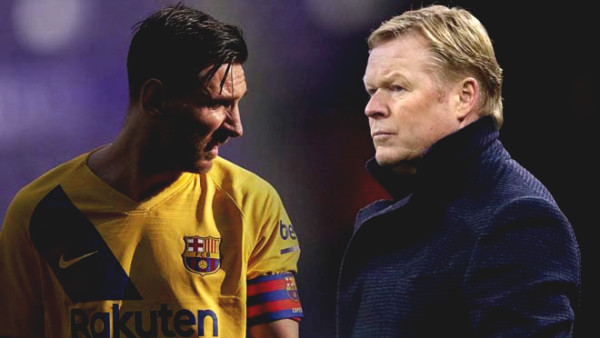 How can coach Koeman keep Messi to stay: Learning how Ferguson retained Ronaldo in 2008?