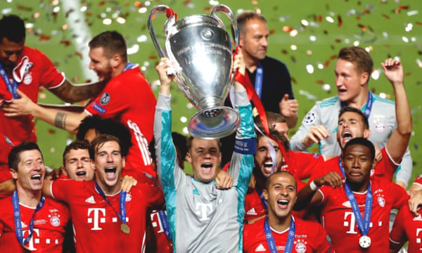 Bayern crowned Super Cup C1 with a record, not yet a champion by