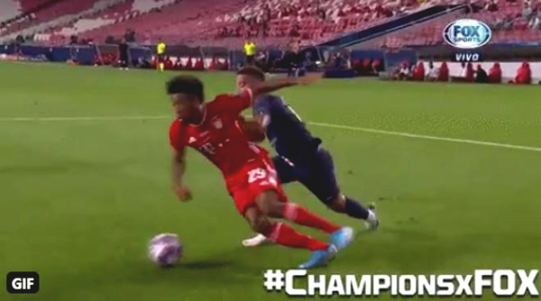 PSG and Bayern lost unfair penalty at C1 Cup final, was referee to blame?