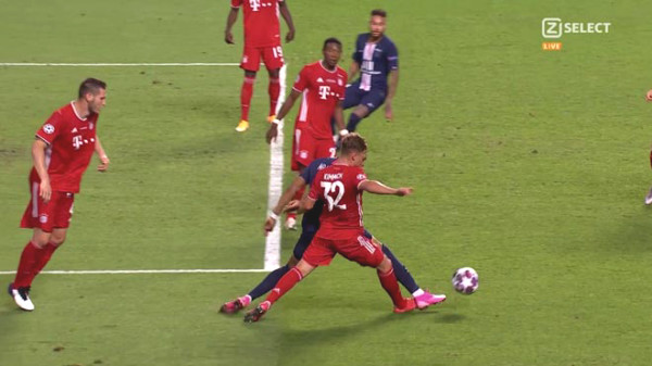 PSG and Bayern lost unfairly penalty C1 Cup final referee remiss?