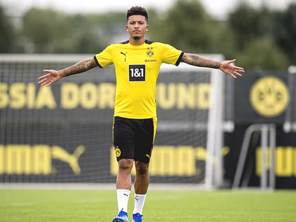 MU is closing down 208 million Pounds deal for Sancho, extremely pleased to welcome news about Pogba