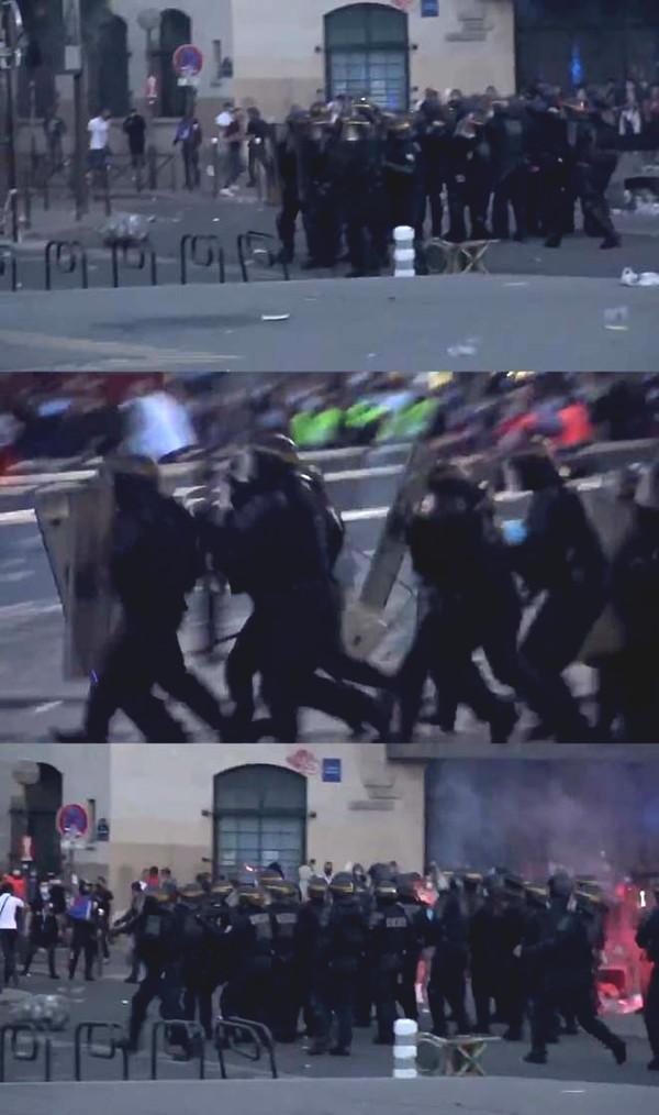 Neymar, Mbappe deficit C1 Cup: PSG fan 148 arrested for violent terror