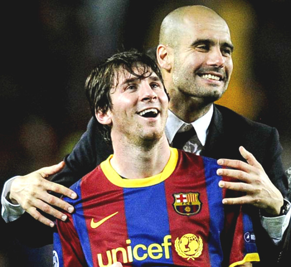 Messi plays for Manchester City select - Pep Guardiola, PSG & MU every opportunity