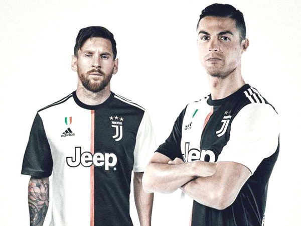 Million fans dream pairing Messi Ronaldo, Juventus have made