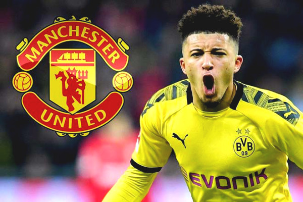 "Stunning why MU is silent on transfer: Had to put down Sancho deal because of ""sanction""?"