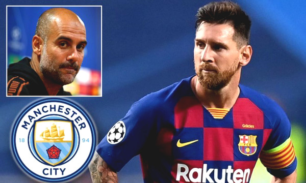 "Deal of the century Man City to buy Messi: ""sacrifices"" 3 stars, spends 100 million Euros"
