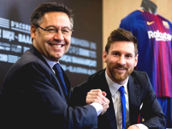 """HOT: """"The Boss"""" of Barca is willing to resign because of Messi"""