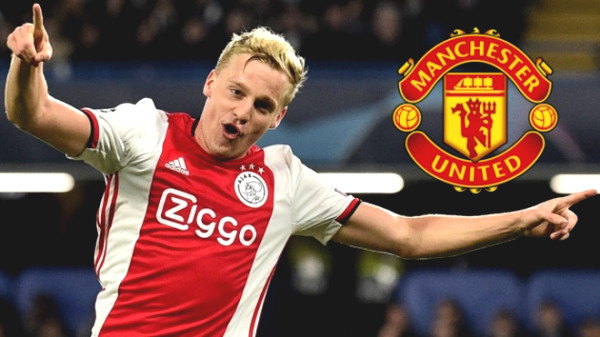 "First ""Blockbuster"" of MU: Van de Beek's medical examination, the dream came into reality"