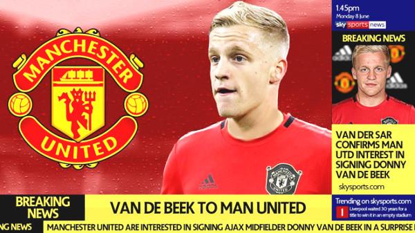 MU is gleeful: Van de Beek is a big game player, always scores decisive goals