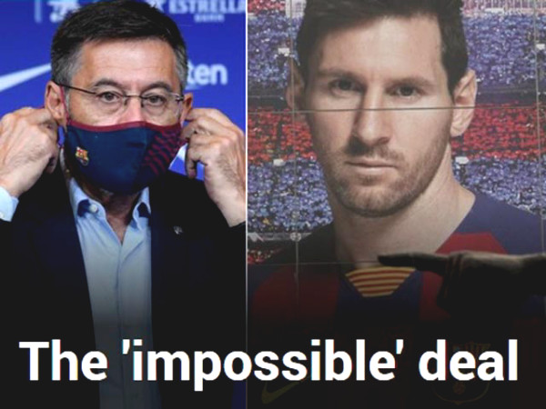 "HOT: Barca ""Boss"" budged, Messi can leave with incredible condition?"