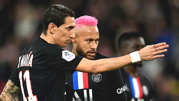 PSG is chaotic because of Covid-19: Neymar and Di Maria were positive for Covid-19