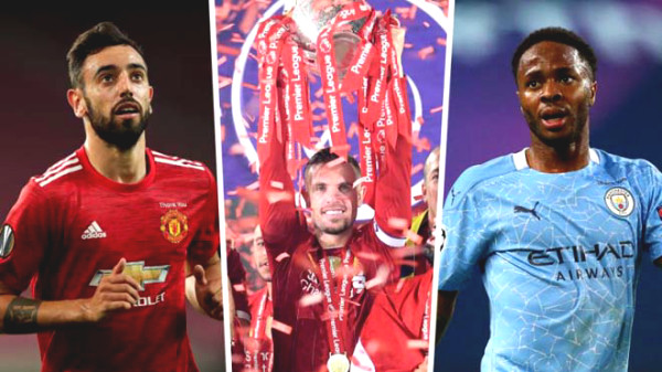 Premiership 2020/21 fiery: two-horse race Liverpool - Manchester City or Manchester United shocking?