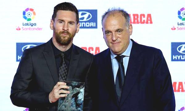 Hot 8/9 football news: La Liga Chairman showed gratitude toward Messi