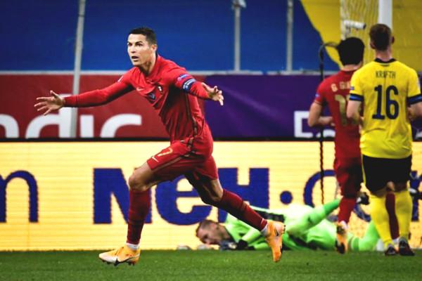 Ronaldo scored a record of 101 goals