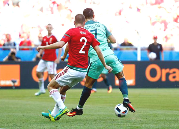 Ronaldo scored a record 101 goals in: Shoot down De Gea himself extremely dangerous nicest out the top tier