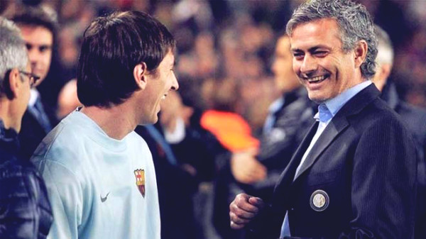 Mourinho trolled Pep Guardiola & Man City for the rumors of buying Messi