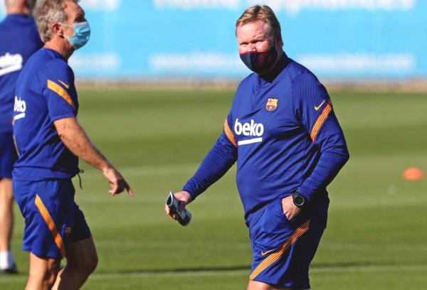 Barca revealed new squad - Koeman: Where will Messi be?