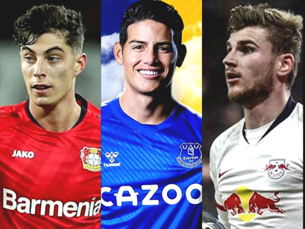"""Premier League Round 1 official opening: Will """"blockbusters"""" Havertz, James Rodriguez shine?"""
