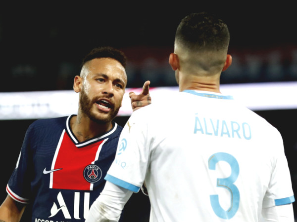 Bewildered reason Neymar wants punch the opponent after the defeat of PSG