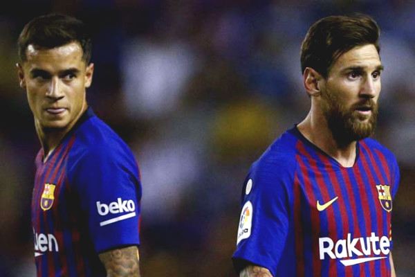 "Messi stays at Barca, Coutinho may be ""sacrificial"" to Arsenal?"