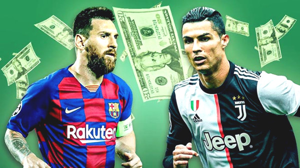 Messi is immensely rich, earns $1 billion like Ronaldo