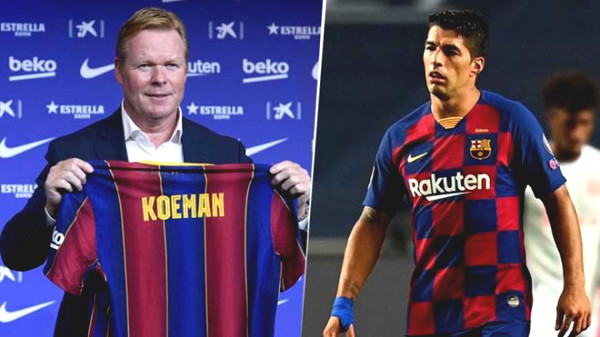 Barca abruptness with Suarez: Coach Koeman forbid the door, easy to be out of contract
