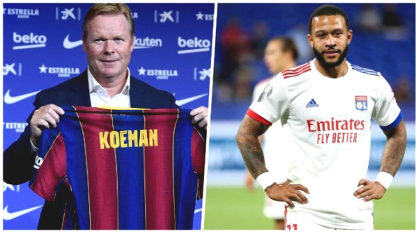 Barca to close the deal of buying Depay for 30 million Euros to assist Messi, what is the welcome date?