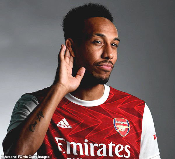 Aubameyang officially extended the contract with Arsenal, has team's highest salary