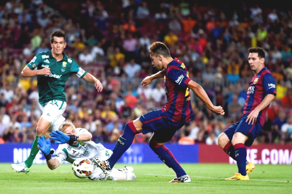 Barcelona - Elche match verdict: Waiting for the goals rain, taking home first title