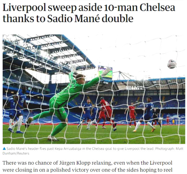 Liverpool threw Chelsea, British newspapers predicted Lampard fired