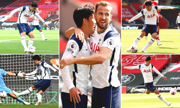 Son Heung-Min - Kane set an unmatched record, best at Premier League in half a decade