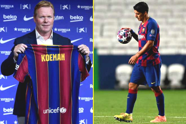 Barca liquidated Suarez: Koeman competed with Real for Cavani to suport Messi