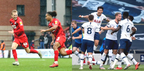 Hot 23/9 football news: The match between Tottenham Hotspur and Leyton Orient is postponed