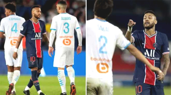 Neymar is accused of insulting opponents in the 5 red cards incident, at risk of adding a new sentence