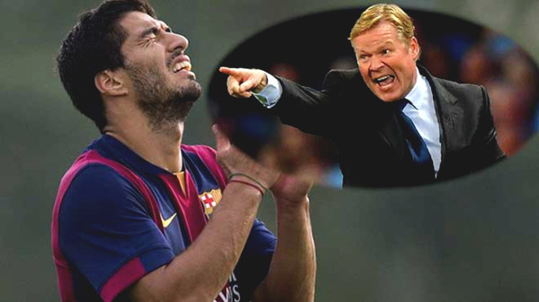 Koeman will conflict with the Messi: Used to be accused of cruel treatment to player