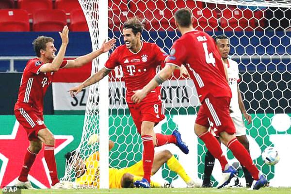 Bayern upstream suffocation, after 7 years again won
