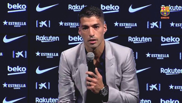 HOT: Suarez had the 1st press conference telling about crazy month at Barca, revealed the reaction of Messi