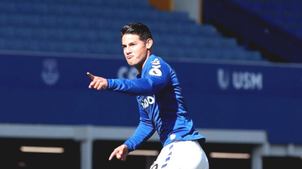 Hot 25/9 football news: James is happy to be with Everton